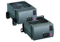Compact high-performance Fan Heater CR 030 950W (stationary), Compact high-performance Fan Heater CR 130 950W (clip or screw fixing)