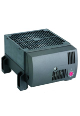 Compact high-performance Fan Heater CR 030 (clip or screw fixing)